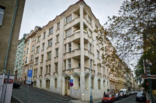 Kubistický dům v Neklanově ulici