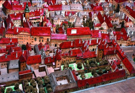Langweilův model Prahy - Muzeum hlavního města Prahy