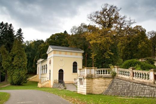 Lázeňský dům Bílina - Budova inhalátoria