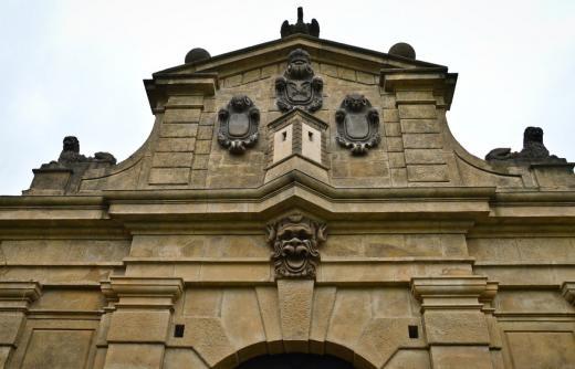 Leopoldova brána na Vyšehradě