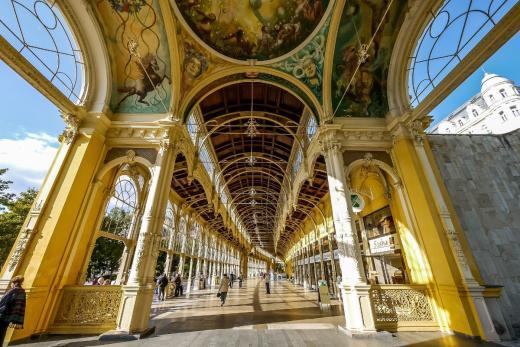 Krásy a kolonády Mariánských Lázní