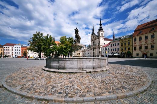 Masarykovo náměstí v Jihlavě