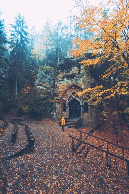 Modlivý důl u Svojkova