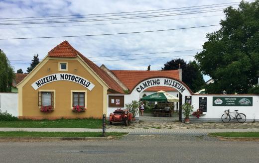 Muzeum motocyklů Lesná u Znojma