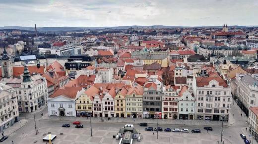 Náměstí Republiky v Plzni