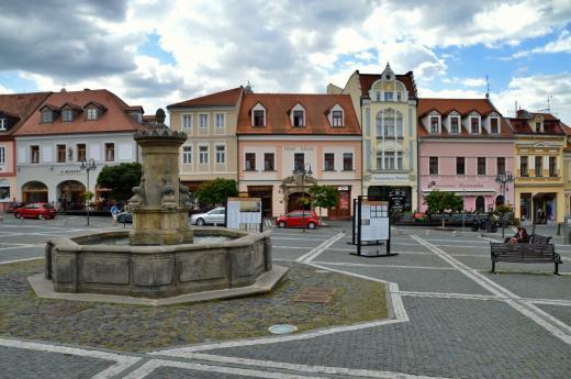 Náměstí T. G. Masaryka v České Lípě