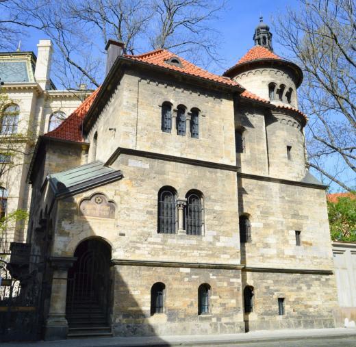 Nová obřadní síň u Starého židovského hřbitova