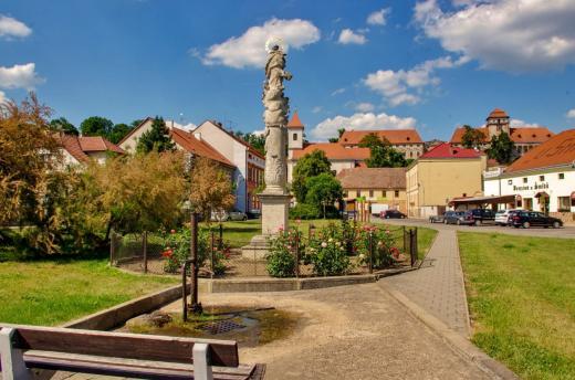 Obecní náměstí Jaroslavice