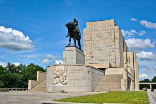Památník a park na Vítkově