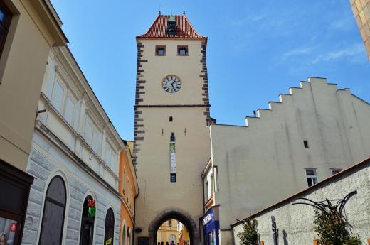 Pražská brána v Mělníku