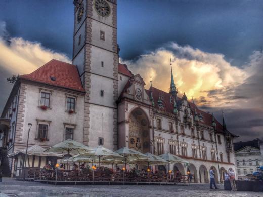 Radnice Olomouc a orloj