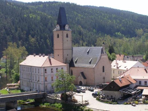 Rožmberk nad Vltavou - Kostel sv. Mikuláše