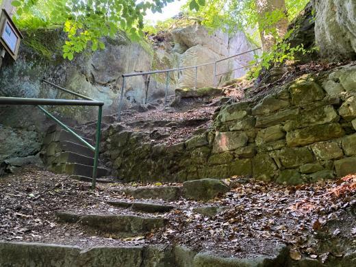 Skalní hrad Pařez