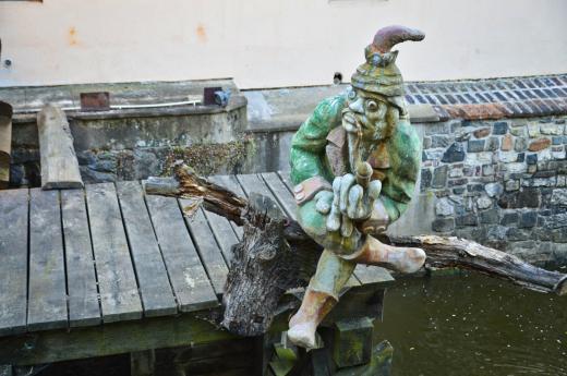 Socha vodníka Kabourka