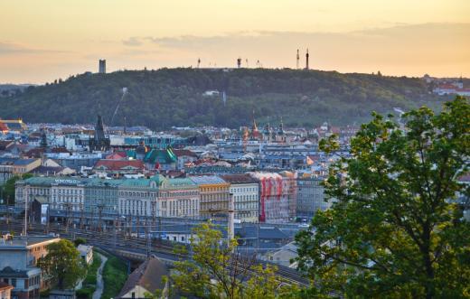 Výhled z Vítkova