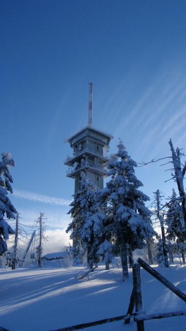 Vysílač na Klínovci