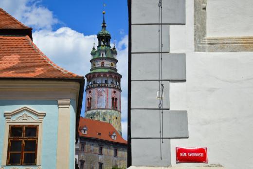 Zámecká věž v Českém Krumlově