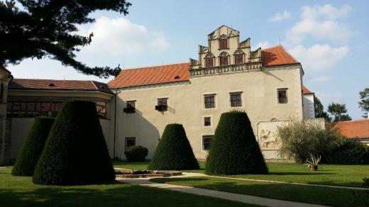 Zámecký park v Telči