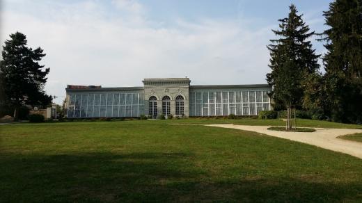 Zámecký skleník v Telči