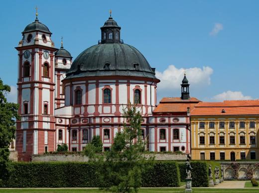 Zámek Jaroměřice nad Rokytnou - Kostel sv. Markéty