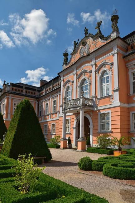 Zámek Nové Hrady ve východních Čechách