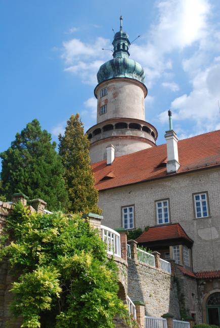 Zámek Nové Město nad Metují - věž Máselnice