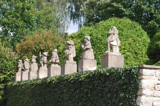 Zámek Nové Město nad Metují - zámecká zahrada