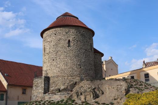 Znojemský hrad a zámek - rotunda sv. Kateřiny