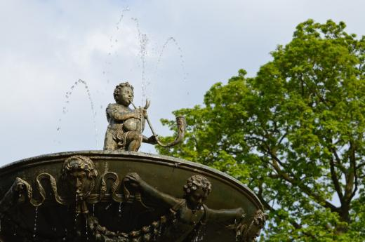 Zpívající fontána v Královské zahradě