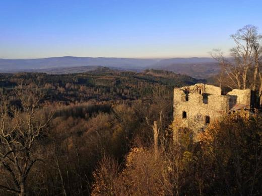Zřícenina hradu Andělská hora
