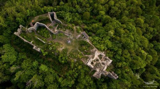 Zřícenina hradu Egerberk