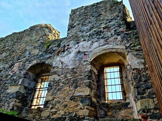 Zřícenina hradu Kamenice