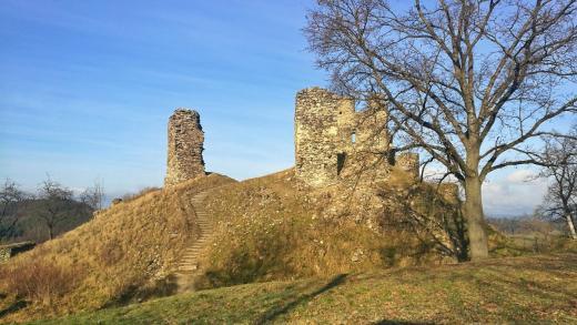 Zřícenina hradu Brníčko
