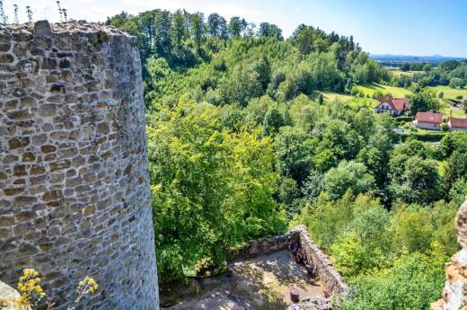 Zřícenina hradu Frýdštejn