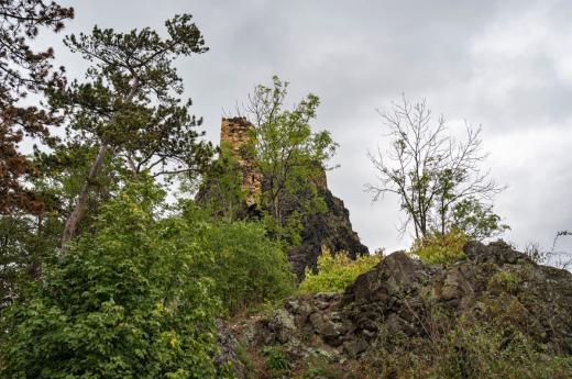 Zřícenina hradu Kamýk