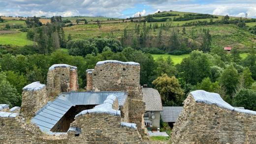 Zřícenina hradu Rokštejn