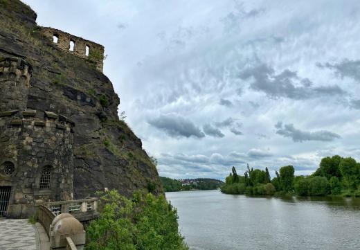 Zřícenina hradu Vyšehrad