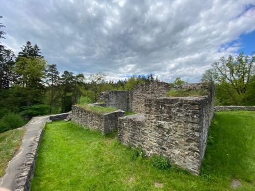Zřícenina hradu Kozí hrádek