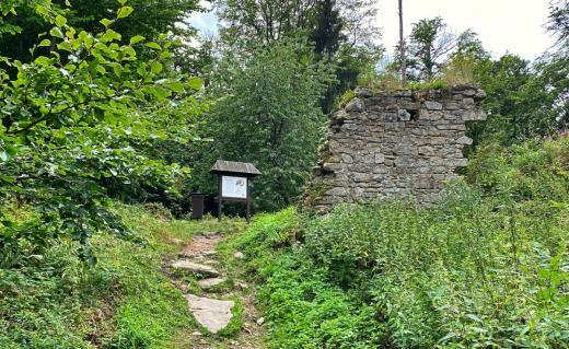 Zřícenina hradu Štamberk
