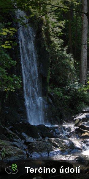 Terčino údolí - Nové Hrady